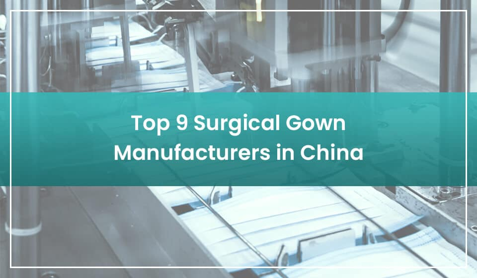 top surgical gown manufacturers in china
