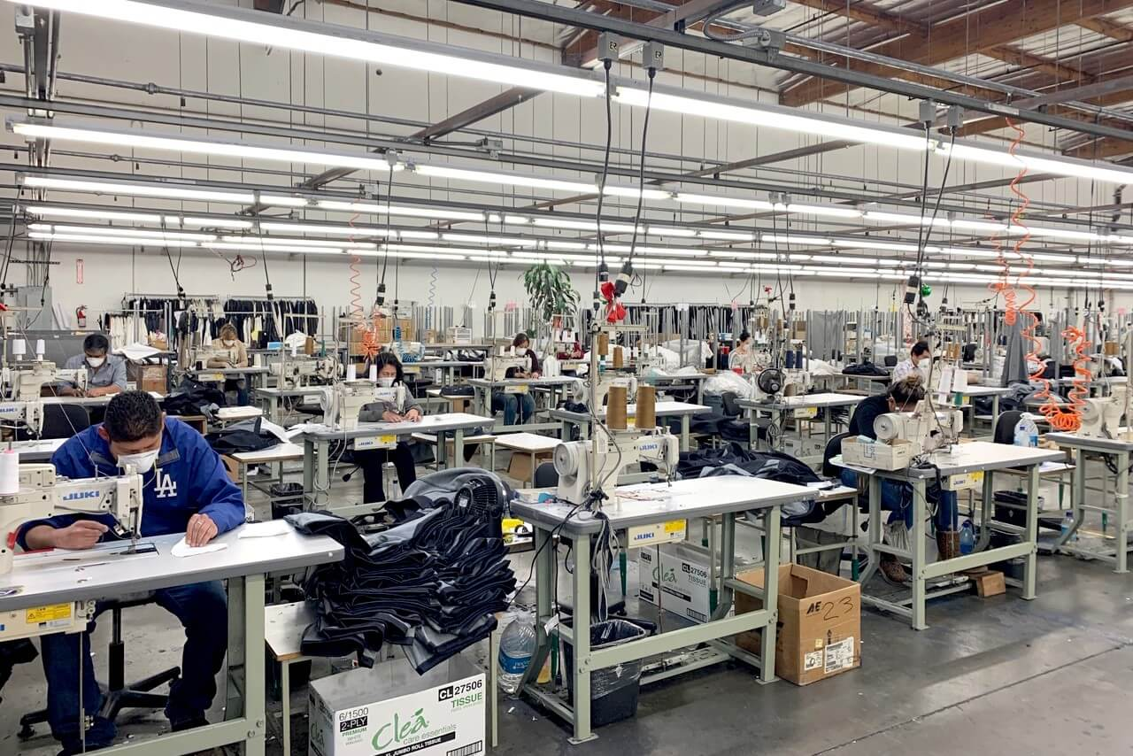isolation gown factory